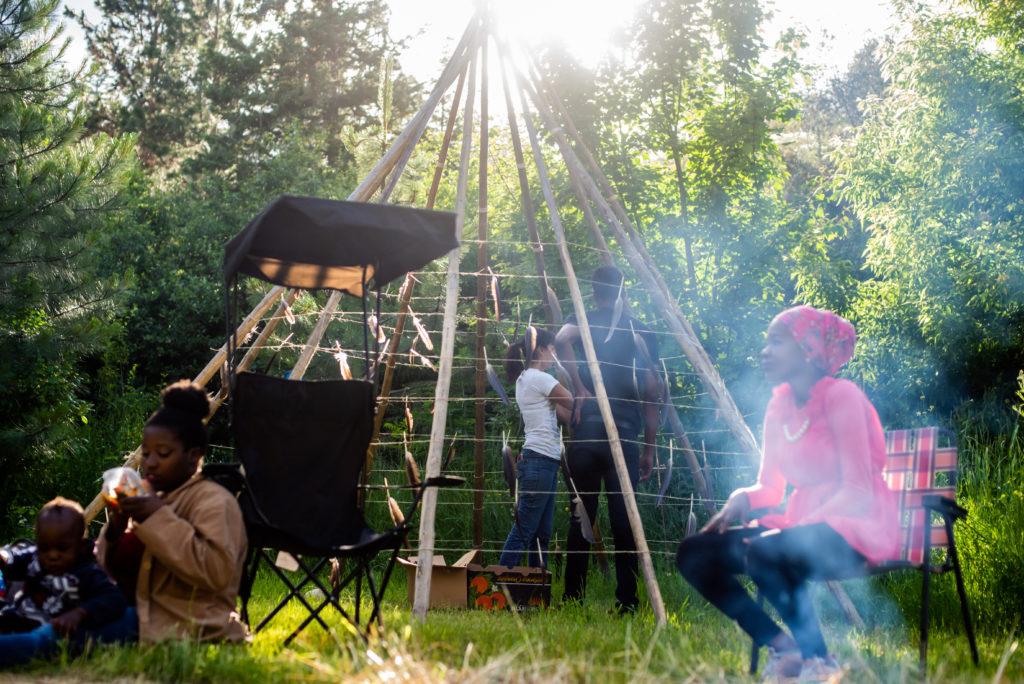 Summer solstice poetry performance